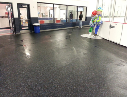 Ice Rink Rubber Floor