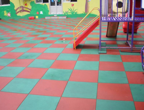 School Rubber Tile
