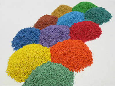 Colored EPDM Rubber Granules