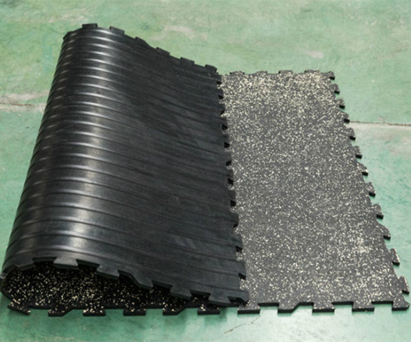 Ultra Lock Rubber Tile For Skating Rink Greenwell